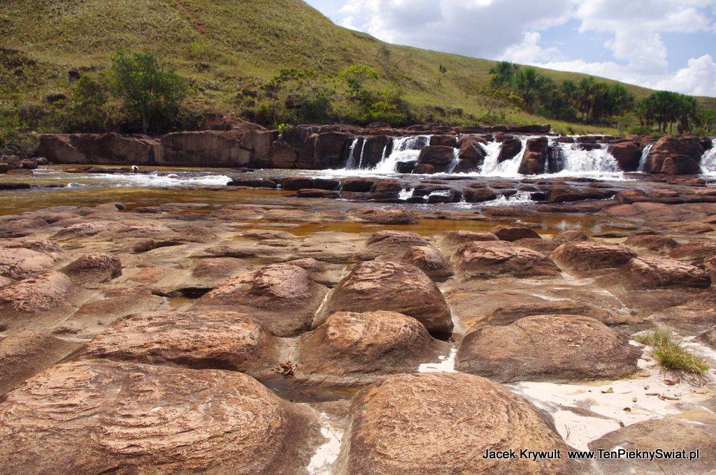 Wodospad Salto Soroape Wenezuela