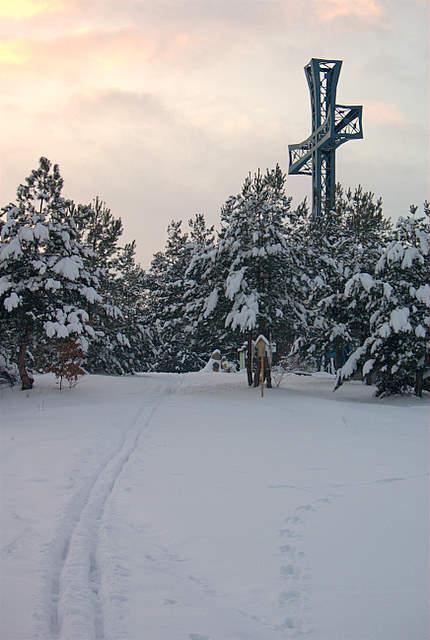 Kobyla Góra ,szczyt