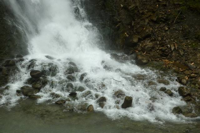 Lichtensteinklamm wodospad
